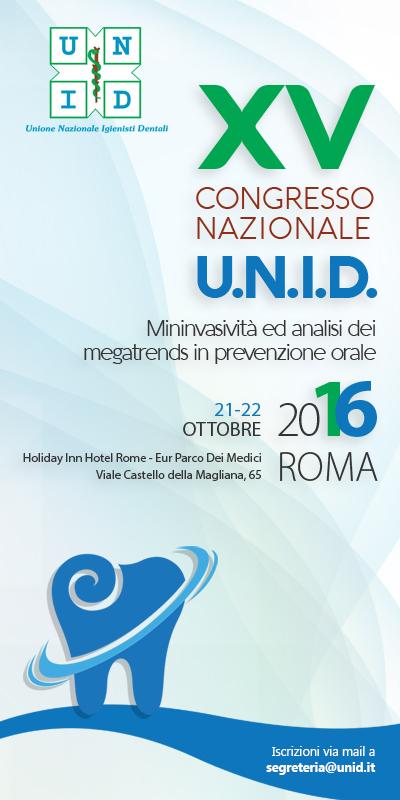 XV Congresso Nazionale U.N.I.D. – 21 e 22 Ottobre 2016