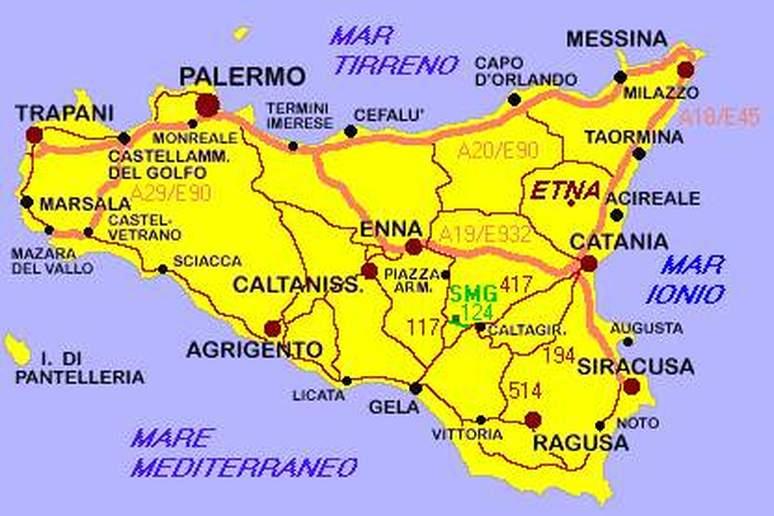 Cartina Sicilia Pdf.Cartina Meteo Sicilia Tomveelers