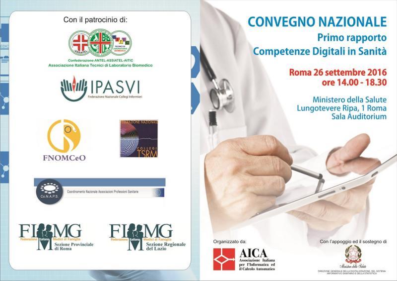Primo report sulle competenze digitali in sanità