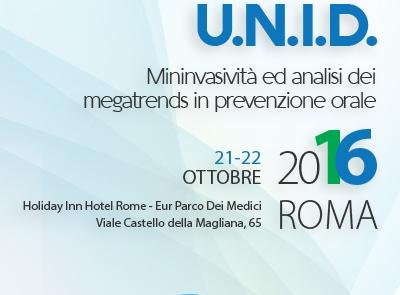Ringraziamento ai soci intervenuti al XV Congresso Nazionale UNID